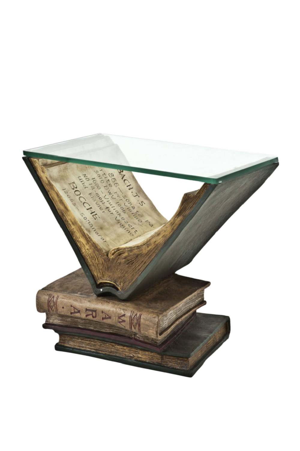 Image of Antique Side Table | Eichholtz Old Books