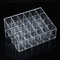 Acrylic Lipstick Holder - Holds 24