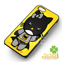 Batman Hello kitty yellow -sww for iPhone 6S case, iPhone 5s case, iPhone 6 case, iPhone 4S, Samsung S6 Edge