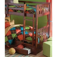 Isla Twin Bunk Bed with Storage