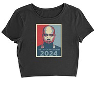 Yeezus For President Cropped T-Shirt