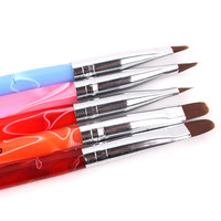 Acrylic 5pcs Nail Brushes
