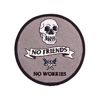 No Friends No Worries Patch
