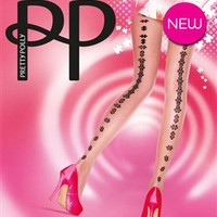 Jigsaw Backseam Tights by Pretty Polly - Pretty Puzzling Tights