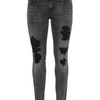 ZIZZI | Distressed slim fit Sanna jeans | navabi
