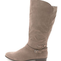 Style & Co. Womens Faee Wide Calf Mid-Calf Riding Boots