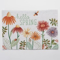 SONOMA life + style ''Hello Spring'' Tapestry Placemat