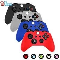 Flexible Silicone Protective Case For Xbox One Game Controller For Xbox One Case Gamepad Remote Controller Cover Bag with Grip