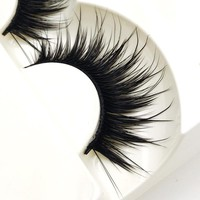 5 Pairs of  Natural Look False Eyelash's -Black-