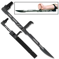 Fantasy Arm Blade w/ Sheath Adjustable Blade Vampire Sword NEW Free Shipping