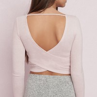 Wrap Back Lounge Top