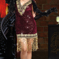 Plus Size Sophisticated Lady Costume