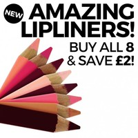 Amazing Lipliner Collection! Buy all 8, save £2!