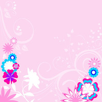 Flower Backgrounds for Digital Scrapbook,  Printable Cards, Invitations, Gift Tags
