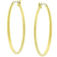Glemi Gold Hoop Earrings | 38mm