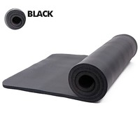 10mm Black Anti-skid Yoga Mat