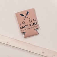 Lake Time Koozie