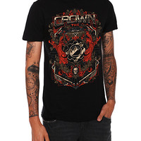 Crown The Empire Crest Slim-Fit T-Shirt | Hot Topic