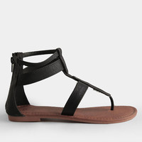 Downtown Scene Ankle Strap Sandals