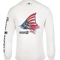 Men's American Redfish L/S UV Fishing T-Shirt