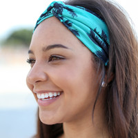 Tropical Turban Headband - Multiple Colors
