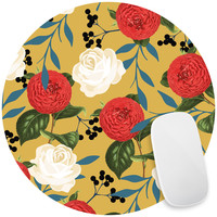 Floral Obsession Mouse Pad Decal