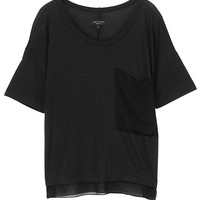 Feather Tee - Black | rag & bone Official Store