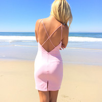 Wild At Heart Dress In Pink