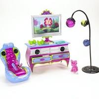 Barbie Dream Glam Room Play Set - Pink and Purple