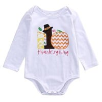 Newborn Infant Baby Boys Girls Romper Jumpsuit Outfits Sunsuit Clothes newborn baby clothes baby jumpsuits