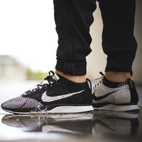 """""""NIKE"""" Net surface breathable sneaker soft-soled running casual shoes Grey black"""