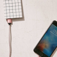 Slim Grid Portable Power Charger - Urban Outfitters