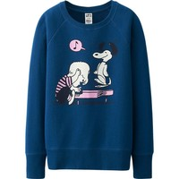 WOMEN PEANUTS LONG SLEEVE SWEAT PULLOVER | UNIQLO