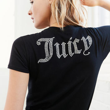 Juicy Couture For UO Gothic Crystal Short-Sleeve Jersey Tee | Urban Outfitters