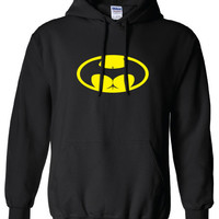 bat signal buttman butt man hoody hero gotham movember Clothing bruce wayne Unisex Style Funny hoodie hooded sweater comic book ML-305yh