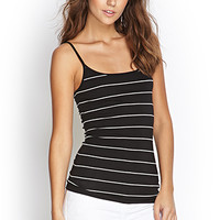 FOREVER 21 Striped Knit Cami