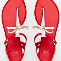 Mel by Melissa Special 2 Toe Post Flat Sandals