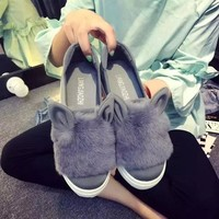 Flat Casual Winter Cotton Shoes [79793061913]