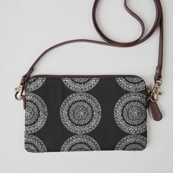 Coin Purse Hippie Mandala YinYang Coin Pouch With Zipper,Make Up Bag,Wallet Bag Change Pouch Key Holder