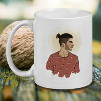 zayn malik Patern Eyes Mug, Tea Mug, Coffee Mug