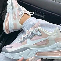 Nike Air Max 270 Series Bullet Full Palm Air Cushion Running Shoes Fashion Men's and Women's Casual Shoes