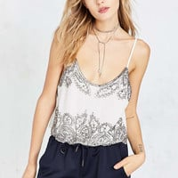 Angie Liv Embellished Cami - Urban Outfitters