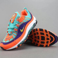 Nike Air Max 98 Women Men Fashion Casual Sneakers Sport Shoes