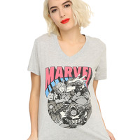 Marvel Heroes Girls T-Shirt