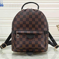 LV Louis Vuitton Classic Mini Backpack Fashion Lady's Small School Bag