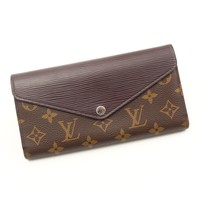 AUTHENTIC LOUIS VUITTON MARIE-LOU LONG WALLET M60430 GRADE B USED-AT