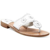 Jack Rogers Classic Navajo Palm Beach Flat Thong Sandals