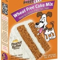 Puppy Cake Wheat-free Peanut Butter Cake Mix and Frosting (9 oz)