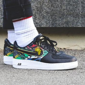"""Nike Air Force 1 Low """"BHM"""" 923093-100"""