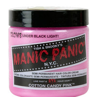 Manic Panic Hair Color Cream Cotton Candy Pink